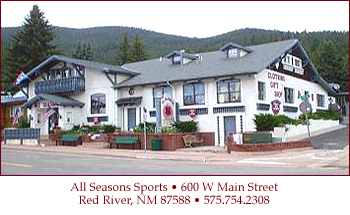 Red River New Mexico performance skis, family ski packages, snow boards and snowblade sales and rentals.